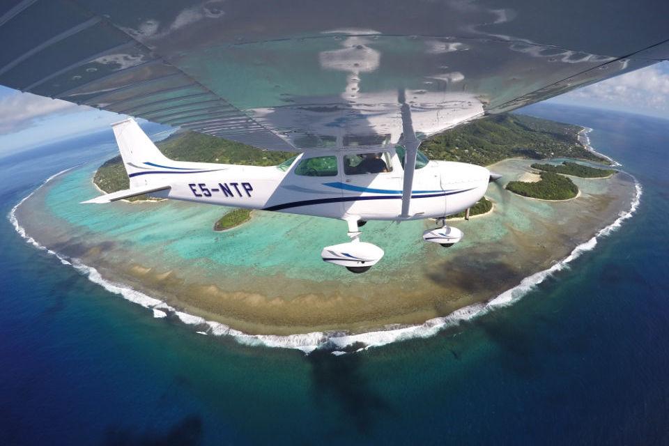 Scenic Flight over Rarotonga